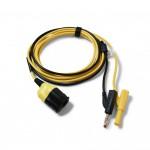 TA478 Pico BNC+ 4mm test lead Yellow 5m