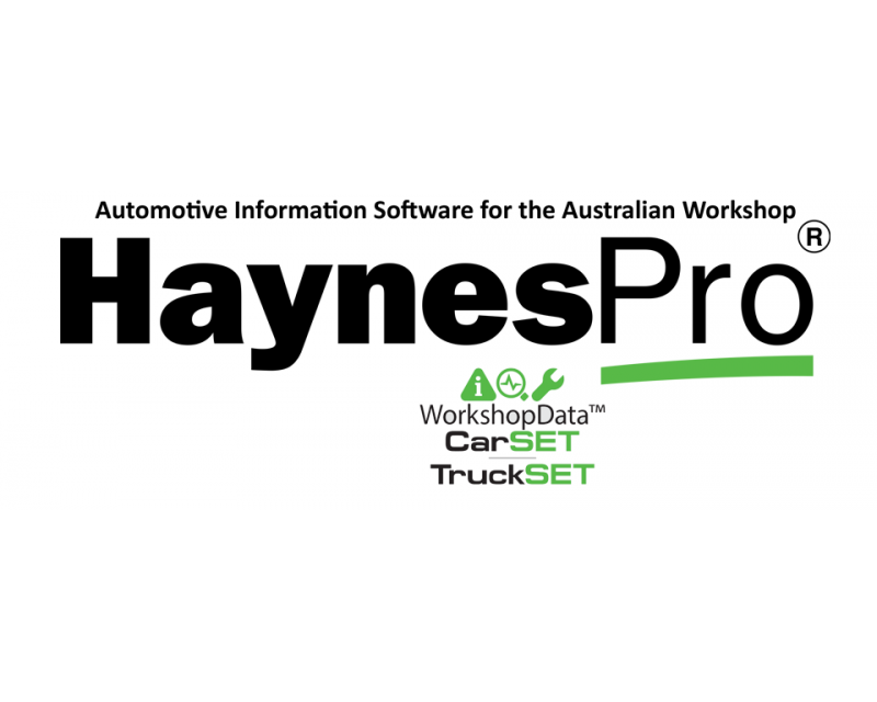 Haynes Pro Workshop Data