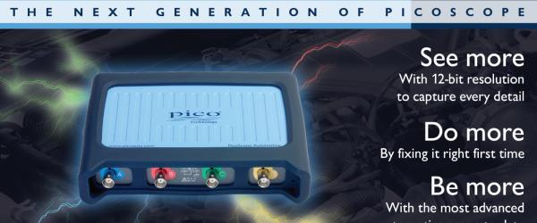 The Next Generation Pico Oscilloscope has arrived