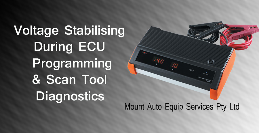 Stable Voltage Imperative During Diagnosis & ECU Programming